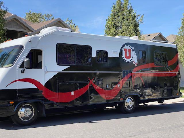 Utes Tailgating RV